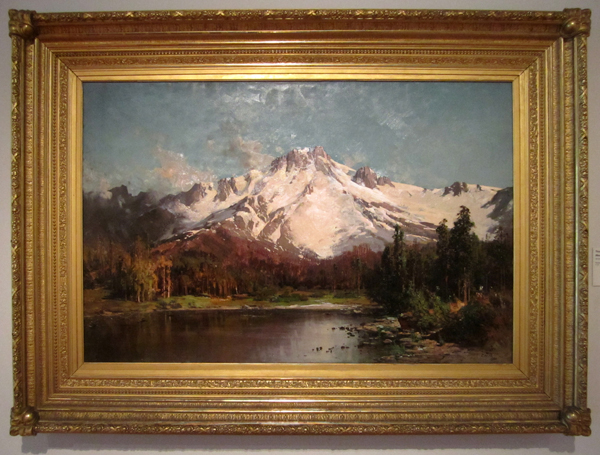 Thomas Hill - Mount Tallac from Lake Tahoe, 1880
