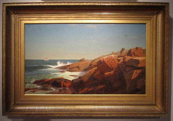 William Stanely Haseltine - Indian Rock, Narrangansett, Rhode Island, 1863