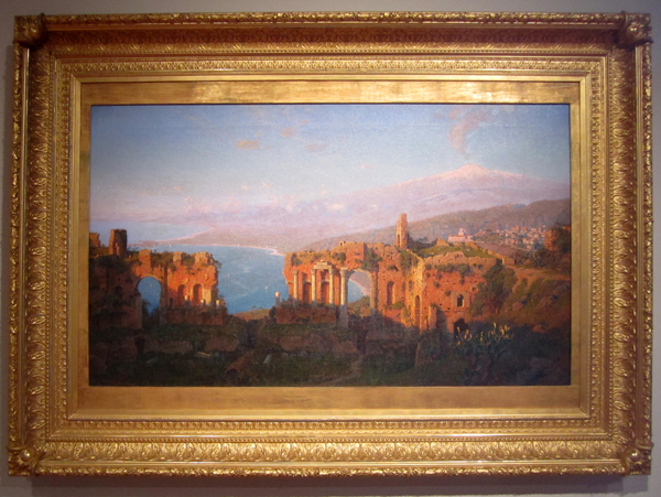 William Stanely Haseltine - Ruins of the Roman Theater at Tarmorina, Sicily, 1889