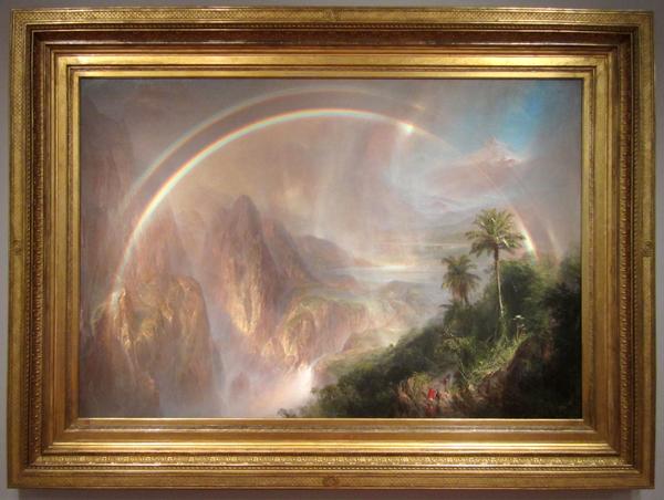 Frederic Edwin Church - Rainy Season in the Tropics, 1866