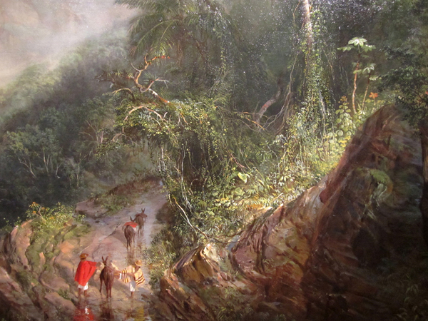 Frederic Edwin Church - Rainy Season in the Tropics, 1866 (detail)