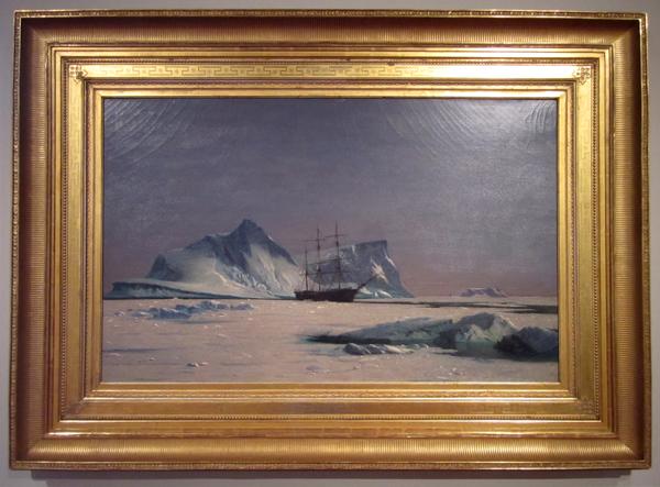 William Bradford - Scene in the Arctic, 1880
