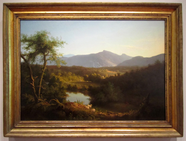 Thomas Cole - View Near the Village of Catskill, 1827