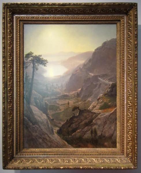 Albert Bierstadt - View of Donner Lake, California, 1871-1872