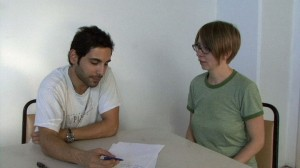 video still from German lesson with Rashad Navidi