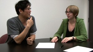 video still from Korean Lesson with John Kim