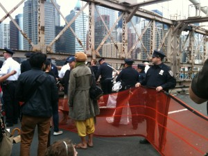 Occupy Wall Street Oct. 1 Mass Arrests on Brooklyn Bridge